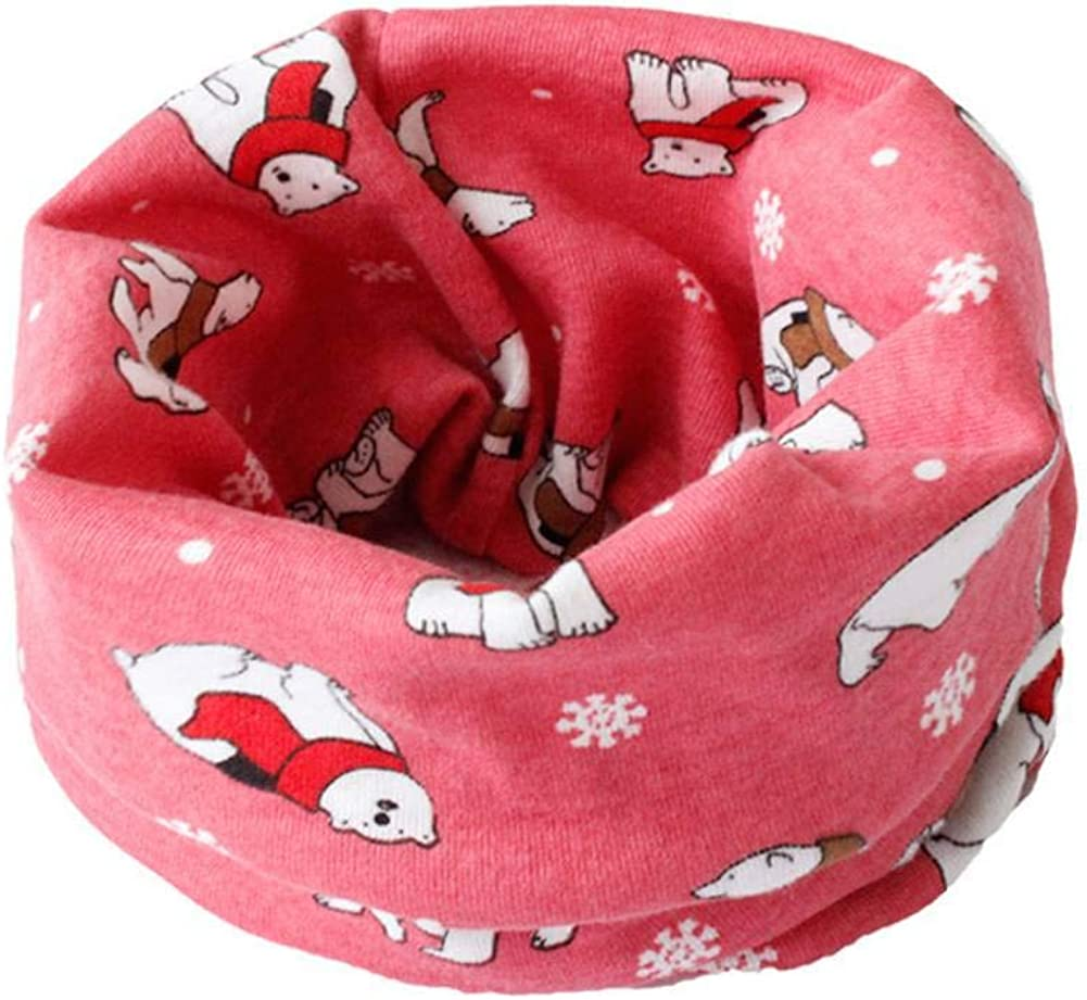 Gyratedream Baby Neck Warmer Kids Collar Scarf Cotton Neckerchief Warm Scarves Bandana for 0-12 Years Old Boys Girls
