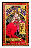 #10: Grateful Dead Poster July 1966/2016 Record Store Day Edition AP Hand-Signed by Bob Masse