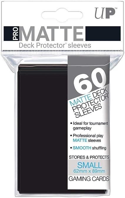 Pro-Matte Eclipse Noir Small Deck Protector Sleeves 60 CT Pack de 12