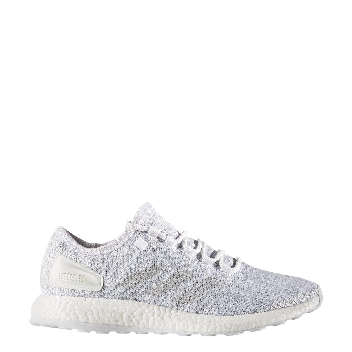 adidas Performance Men's Pureboost Running Shoe B06WRQN6VM 12.5 D(M) US|White-clear Grey-white