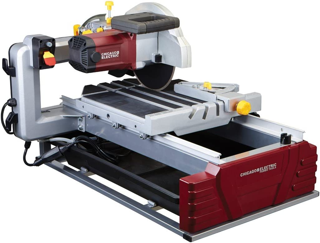 "6. Chicago Pneumatics 2.5 HP 10"" Industrial Tile/Brick Saw"