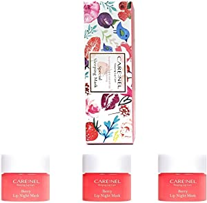 [CARENEL] Korean Cosmetics Lip Sleeping Mask 5g ( 3 Set ) - Maintaining moist lips all day long - Lip gloss and Moisturizers Cream Long lasting - Night Treatments Lip balm Chapped for Cracked lips, Dry lips, wrinkles lips for girls, women and Men