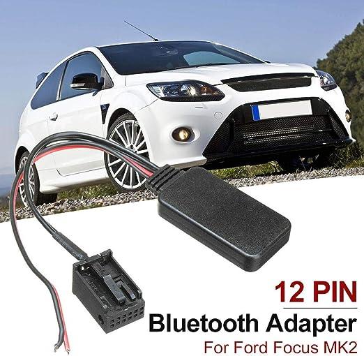 Katurn Bluetooth Audio Kabel 12pin Bluetooth Adapter Aux Kabel Für Ford Focus Mk2 Küche Haushalt