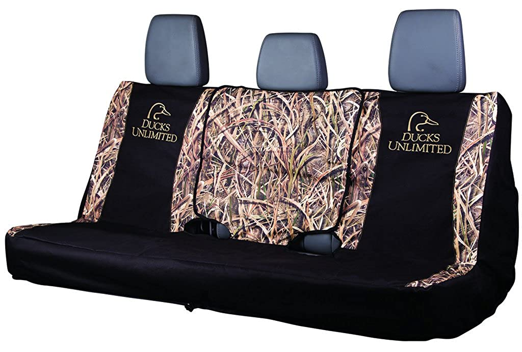 Ducks Unlimited Seat Covers >> Amazon Com Ducks Unlimited Camo Full Bench Seat Cover Shadow