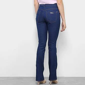 Calça Jeans Flare Coca-cola Boot Cut Cintura Média Feminina