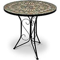 Table Mosaique Ronde Style Salon Marocain Top Deco  Interieur Exterieur