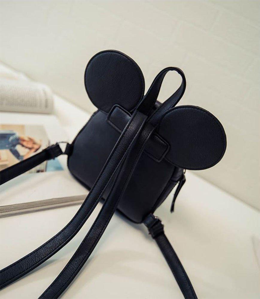 ModaKeusu Casual Purse Fashion Mikey School Leather Backpack Shoulder Bag Mini Backpack for Women & Girls by ModaKeusu (Image #6)