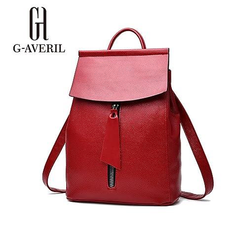 AVERIL Red Bolso mujer mochila G Rojo H GA1140 para 1d8qqf
