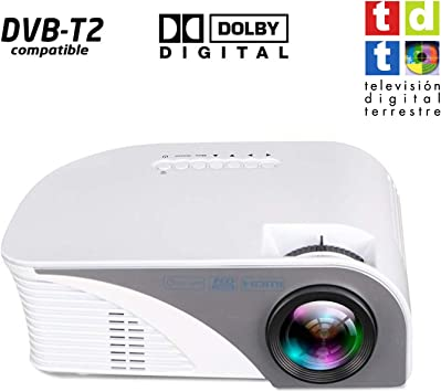 Proyector FULLHD Unicview SG100 con TV TDT, reproduce AC3, MKV ...