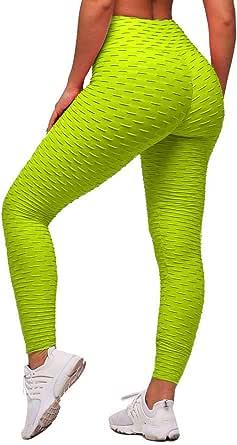 ORANDESIGNE Mallas Pantalones Deportivos Leggings Mujer Yoga de ...