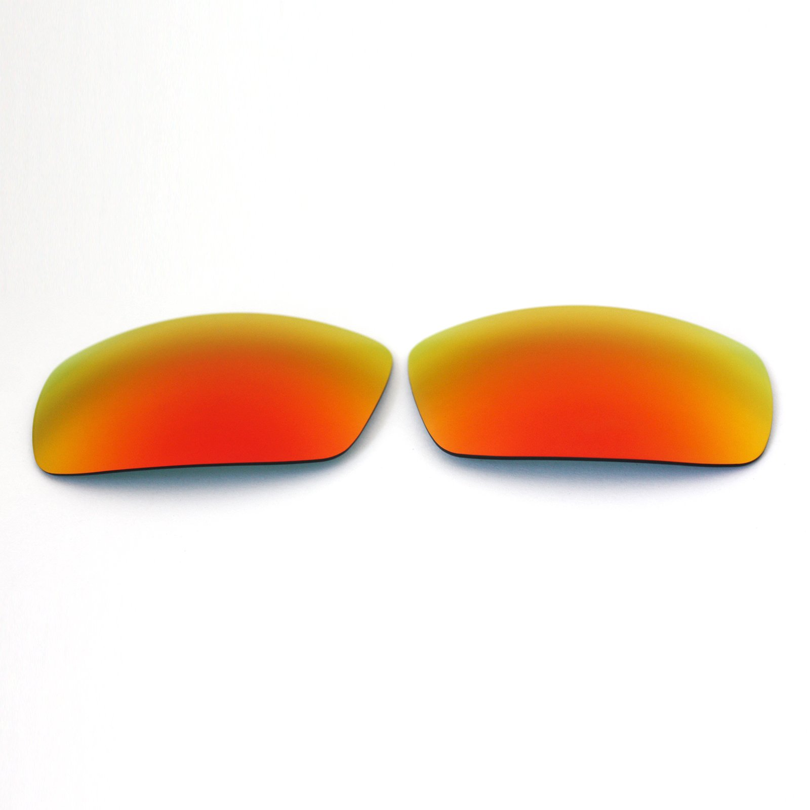 Polarized Replacement Sunglasses Lenses for Spy Optic Logan - Fire Red Mirror