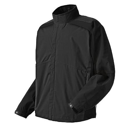 5f7899a31a Amazon.com  FootJoy HydroLite Rain Jacket Black White Check  Sports ...