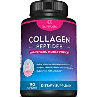 Premium Collagen Peptides Capsules – Includes 2,500 mg of VERISOL® Collagen Peptides Type 1 & Type 3 – Multi Collagen Supplement to Support Joint Health, Hair, Skin & Nails – 150 Collagen Capsules