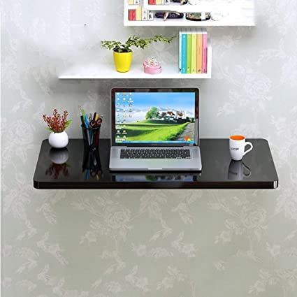 Amazoncom Sjysxm Floating Shelf Small Apartment Piano Paint Black