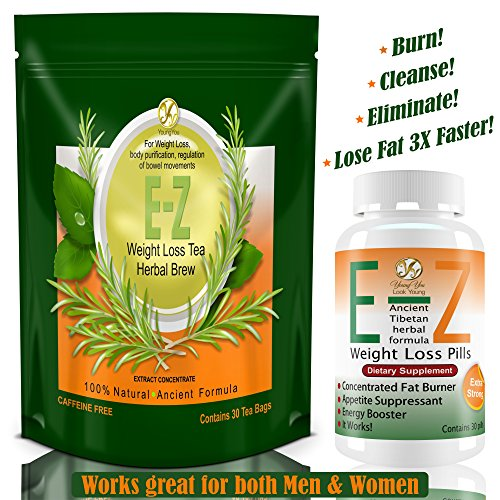 E-Z-Weight-Loss-Pills-EASY-Diet-Tea-Fast-Fat-Burner-Appetite-Suppressant-Rapid-Weight-Loss-Supplement-Lose-Weight-100-Guaranteed