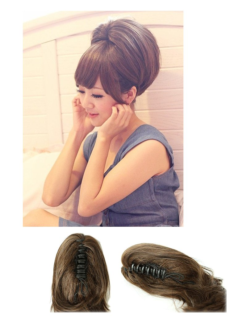 New Short Ponytail Hair Piece Extension Wavy