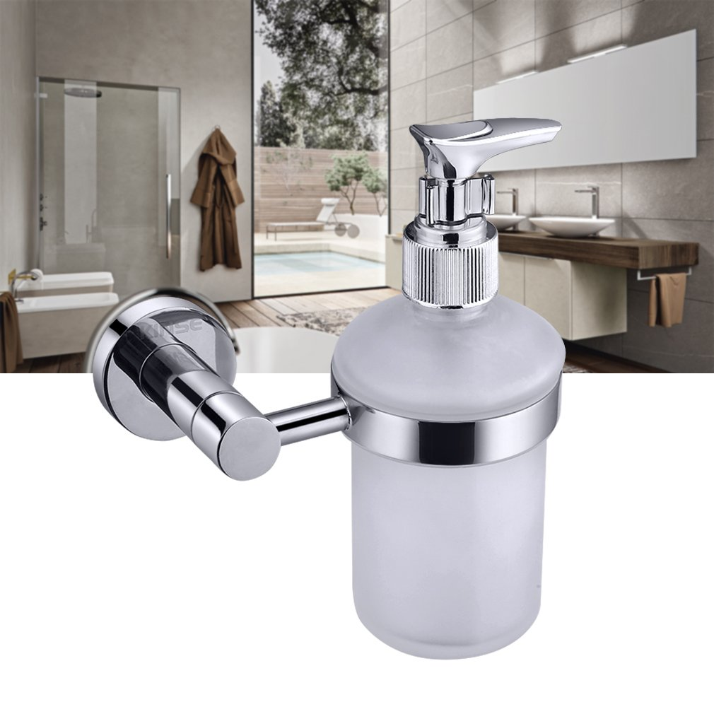 Kosmos 1123068 Stainless Steel and Zinc Alloy Haceka Metal Soap Dispenser Silve