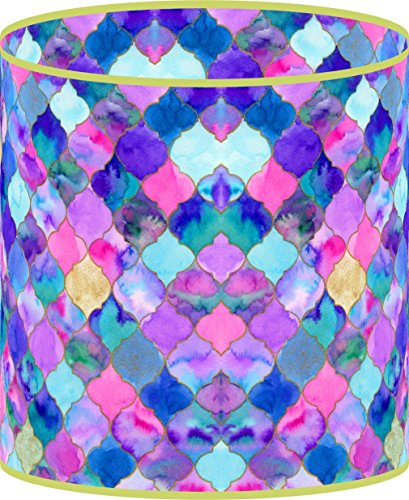 LampPix 10 Inch Custom Printed Table Desk Lamp Shade Bohemia