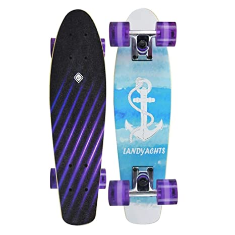 Tabla de Skateboards, tamaño pequeño, Color Arco Iris, para ...