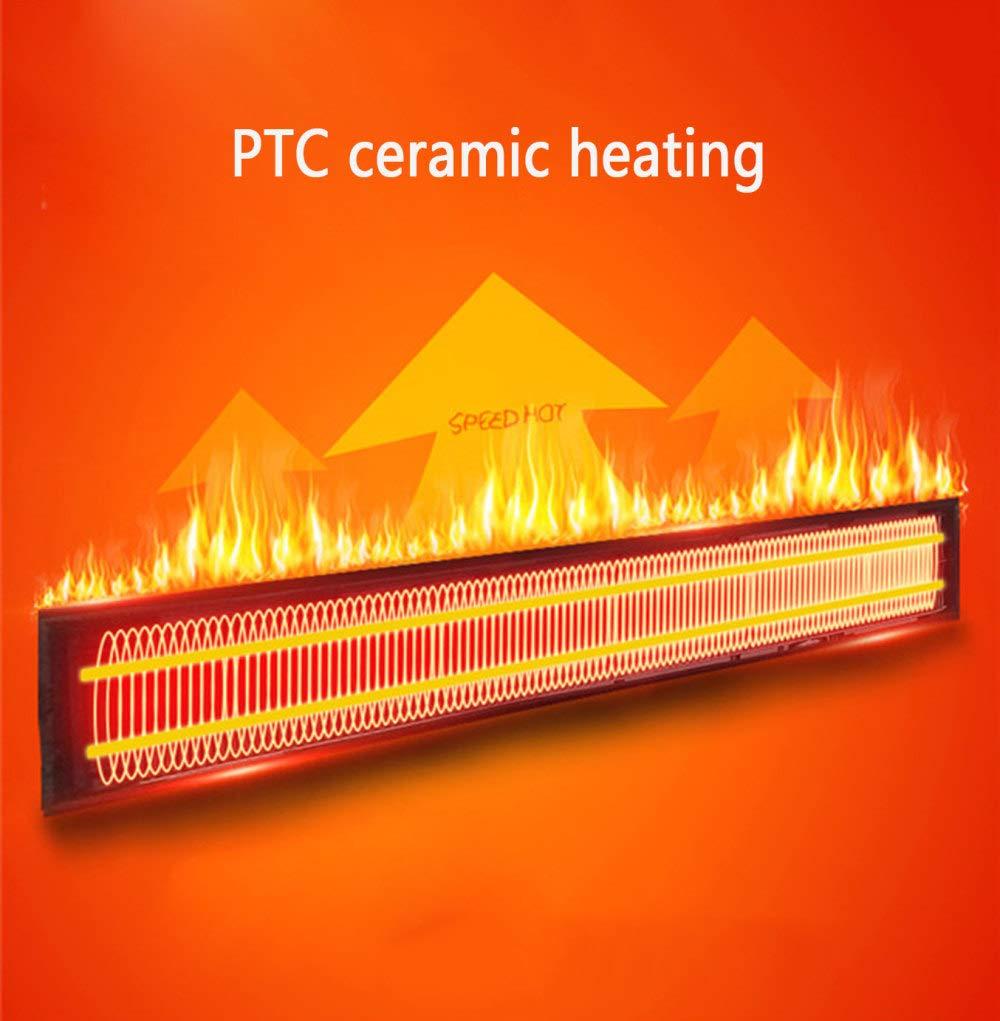 Climatización y calefacción Control Remoto Inteligente Temporizador Calentador De Ventilador BLOIBFS Calentador Eléctrico De Pared