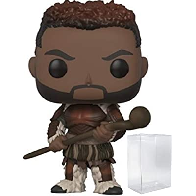 Funko Pop! Marvel: Black Panther - M'Baku Vinyl Figure (Bundled with Pop Box Protector Case): Toys & Games