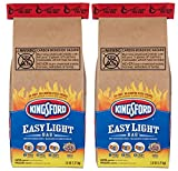 Kingsford Charcoal Briquettes in an Easy Light Bag, 2.8 Pounds (Pack of 2)