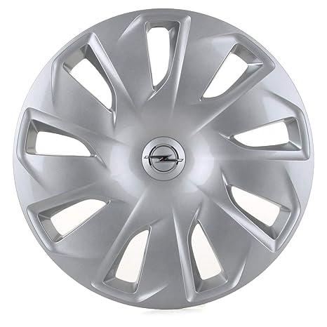 GM OPEL Recambios Originales 1 x Tapacubo Plata Cromado 16 Pulgadas Astra K 13409775 1006368