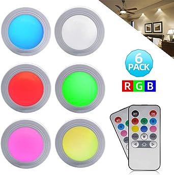 Luces LED para debajo del gabinete - GreeSuit 2 Control remoto ...