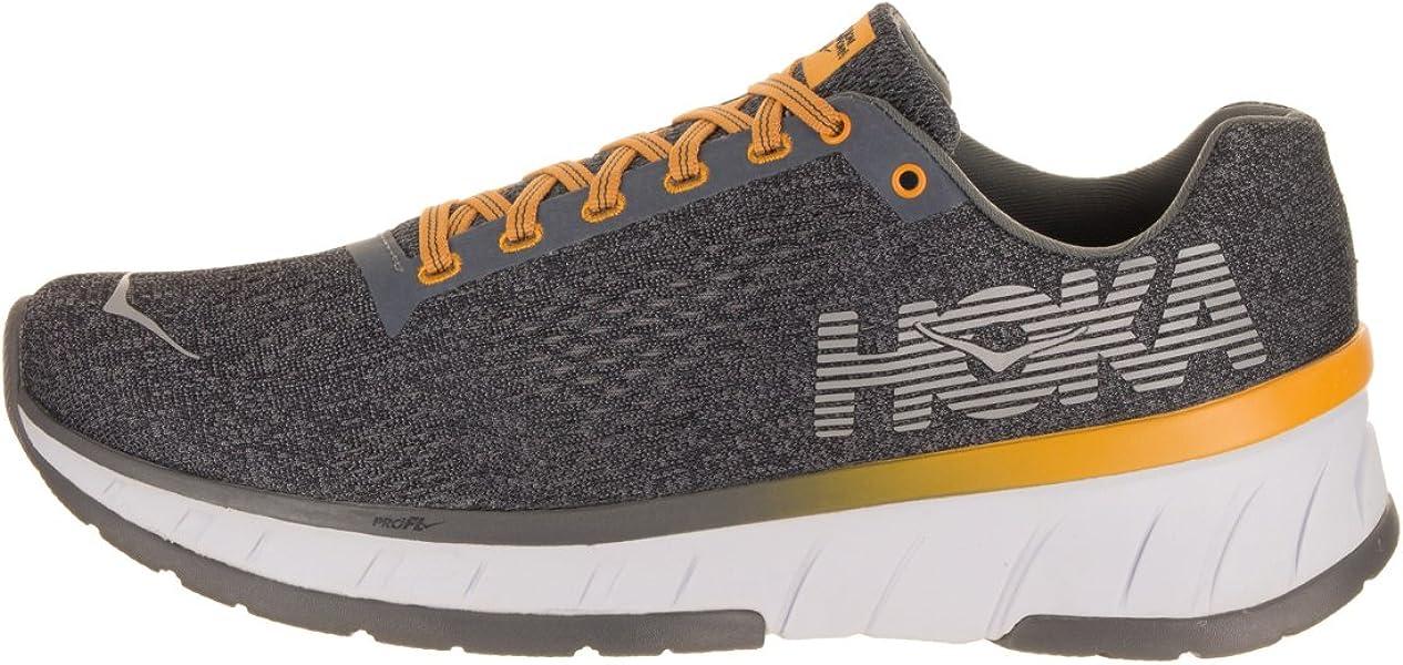 c1b065bf2 Amazon.com   HOKA ONE ONE Men's Cavu Running Shoe Alloy/Nine Iron ...