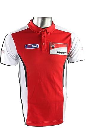VR46 Ducati MotoGP - Polo, Color Rojo/Blanco: Amazon.es: Deportes ...
