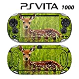 Decorative Video Game Skin Decal Cover Sticker for Sony PlayStation PS Vita (PCH-1000) - Deer Bambie