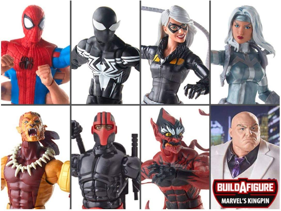 Spider-Man Marvel Legends Series 6-Inch Kingpin Action Figure Exclusive
