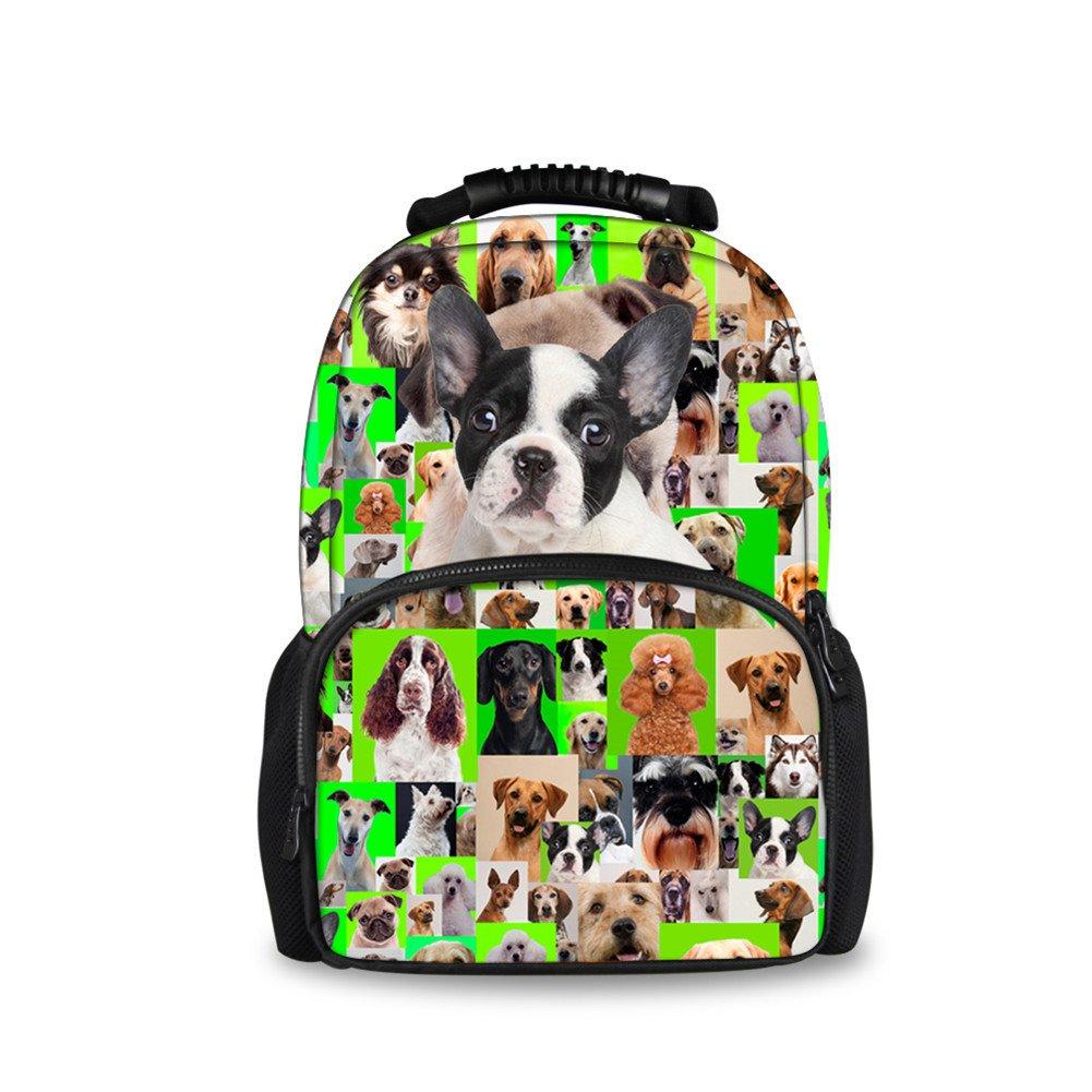 CHAQLIN Schulrucksack Grün pet pet pet dog-4 Large B0746HPV7L Kinderruckscke Billig 62f63f