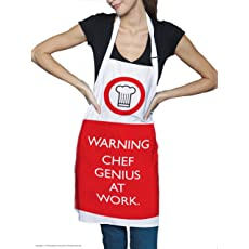 Chef Genius at Work Apron