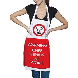 Chef Genius at Work Apron