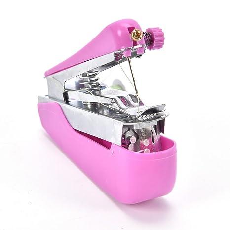 TOOGOO Maquina de coser portatil pequena portatil al aire libre Mini maquina de coser manual de