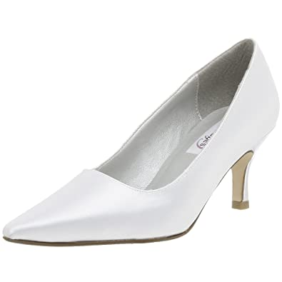 Dyeables Women's Gala Dyeable Pump,White ...