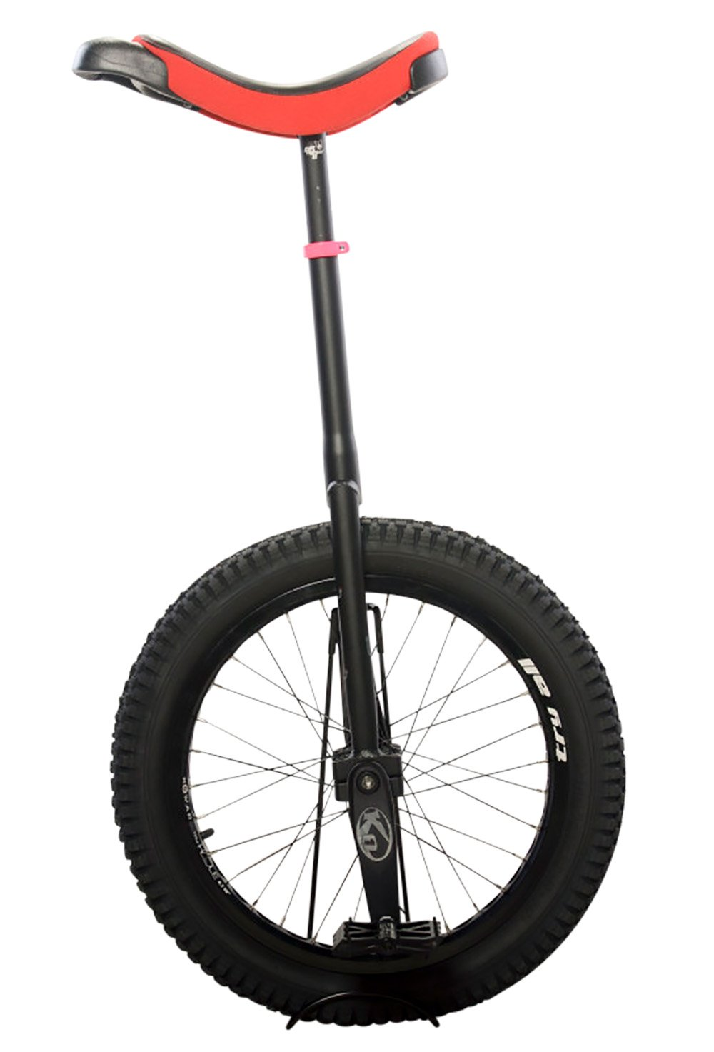 Koxx Troll 20 Trials Unicycle, Red/Black with Black Pedals and Rims by Koxx