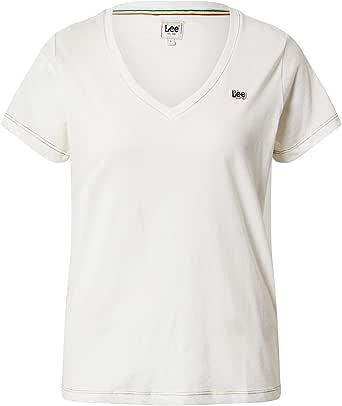 Lee Women's Pride V-Neck Tee T-Shirt