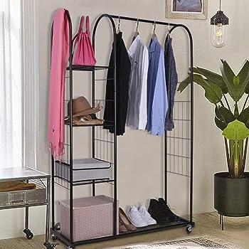 Mythinglogic Heavy Duty Clothing Garment Rack