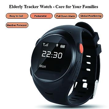Amazon.com: Grewtech Elderly Watch GPW03 Smart Watch GPS ...
