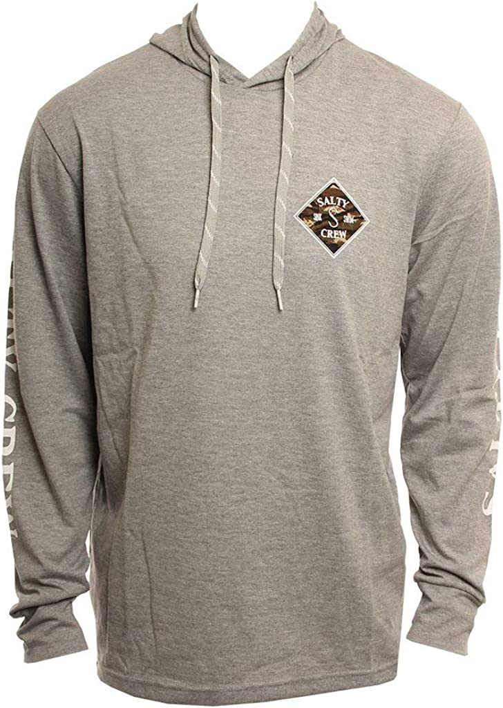 Salty Crew Tippet Bass Tech Hoody - Athletic Heather