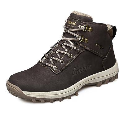 EZUOGO Men's Snow Boots Outdoor Waterproof Sneakers Winter Warm Shoes | Snow Boots