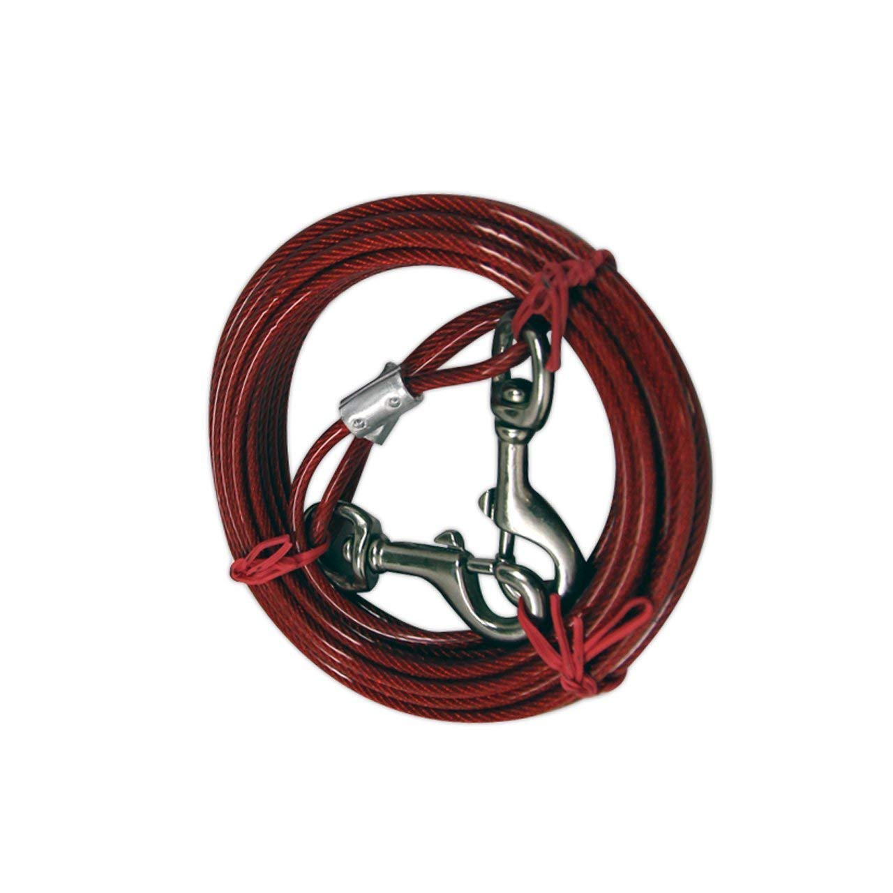 2 Pack IIT 99914 Dog Tie-Out Cable - 20 Feet by IIT