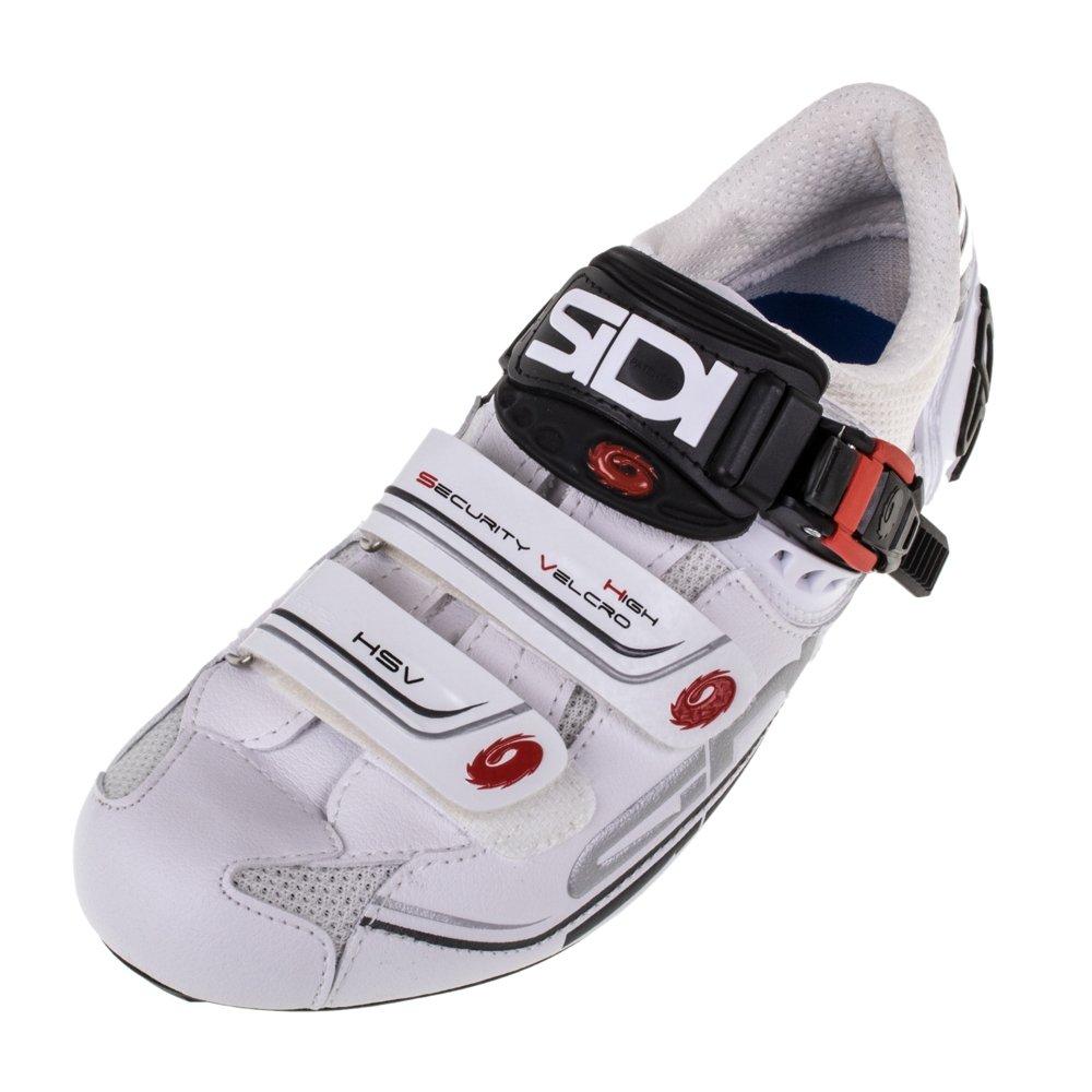 Sidi Genius 7 Road Shoe White//White Eur 47//US 12