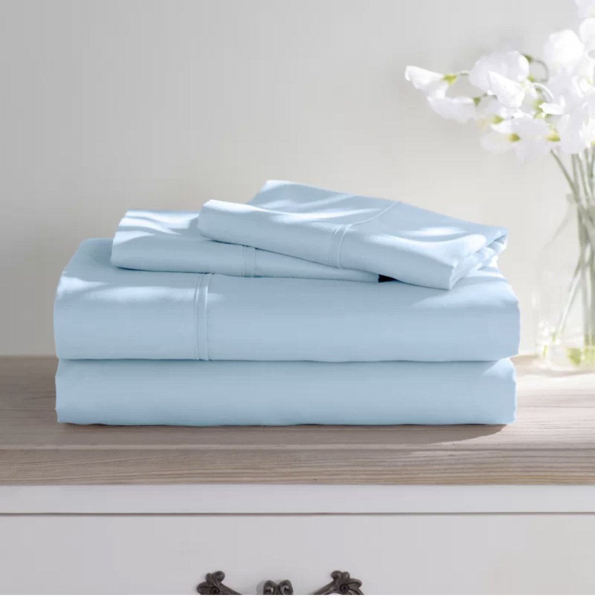 Bed Bath Fashions Premium Dorm Room 1800 Series Double Brushed Microfiber Sheets 3 Piece Sheet Set Twin Extra Long XL - Ultra Soft College Bedding Hypoallergenic and Wrinkle Free (Aqua)