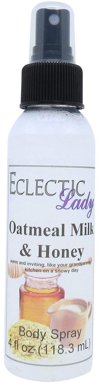 Oatmeal Milk And Honey Body Spray, 4 ounces
