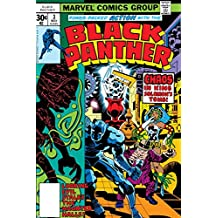 Black Panther No.3 Cover: Black Panther, Princess Zanda, Hatch-22, Little and Abner Charging Poster by Jack Kirby 24 x 36in