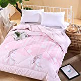 Polyester bed/bedding Warmth Full/Queen/Full/Twin Size Comforter Duvet Insert,Hypoallergenic Box Stitched,Feather Quilting Duvet,14 Overlooking,1.5×2m (2Kg)