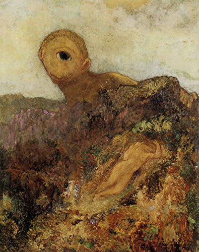 The Cyclops 1914 by Odilon Redon 11